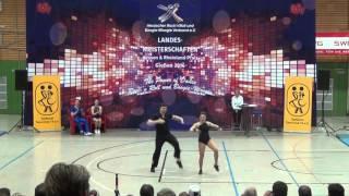 Christina Bischoff-Moos - Lukas Moos - Landesmeisterschaft Rlp, Hessen, Saarland 2016