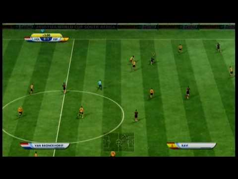Netherlands  Vs Spain - Final - Fifa World cup Sudafrica 2010 ....Xbox 360