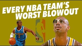EVERY NBA TEAM'S WORST BLOW OUT LOSS - Crazy Stats and Pure Sadness