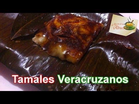 Receta Tamales veracruzanos -  Recetas navideñas  - Tamale veracruzano recipe