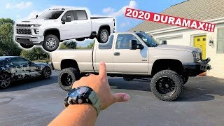 OFFICIALLY ORDERED MY 2020 DURAMAX TO REPLACE MY 2005!!! Here's My Exact Build! *ONLY $65,555!*