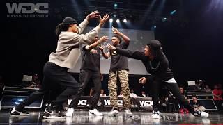 Les Twins vs Justiciers(Kuty Rubix) BEST4 HIPHOP WDC 2019 World Dance Colloceum #WDC