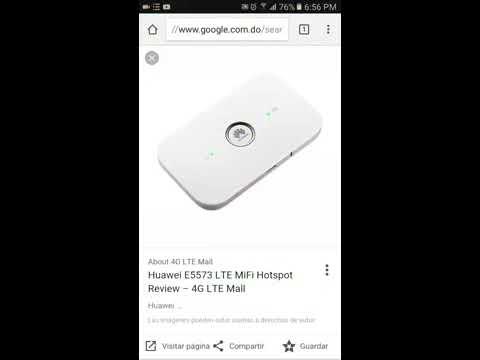 Como cambiar la clave del wifi del modem huawei E5573 LTE de Altice -Orange Republica Dominicana