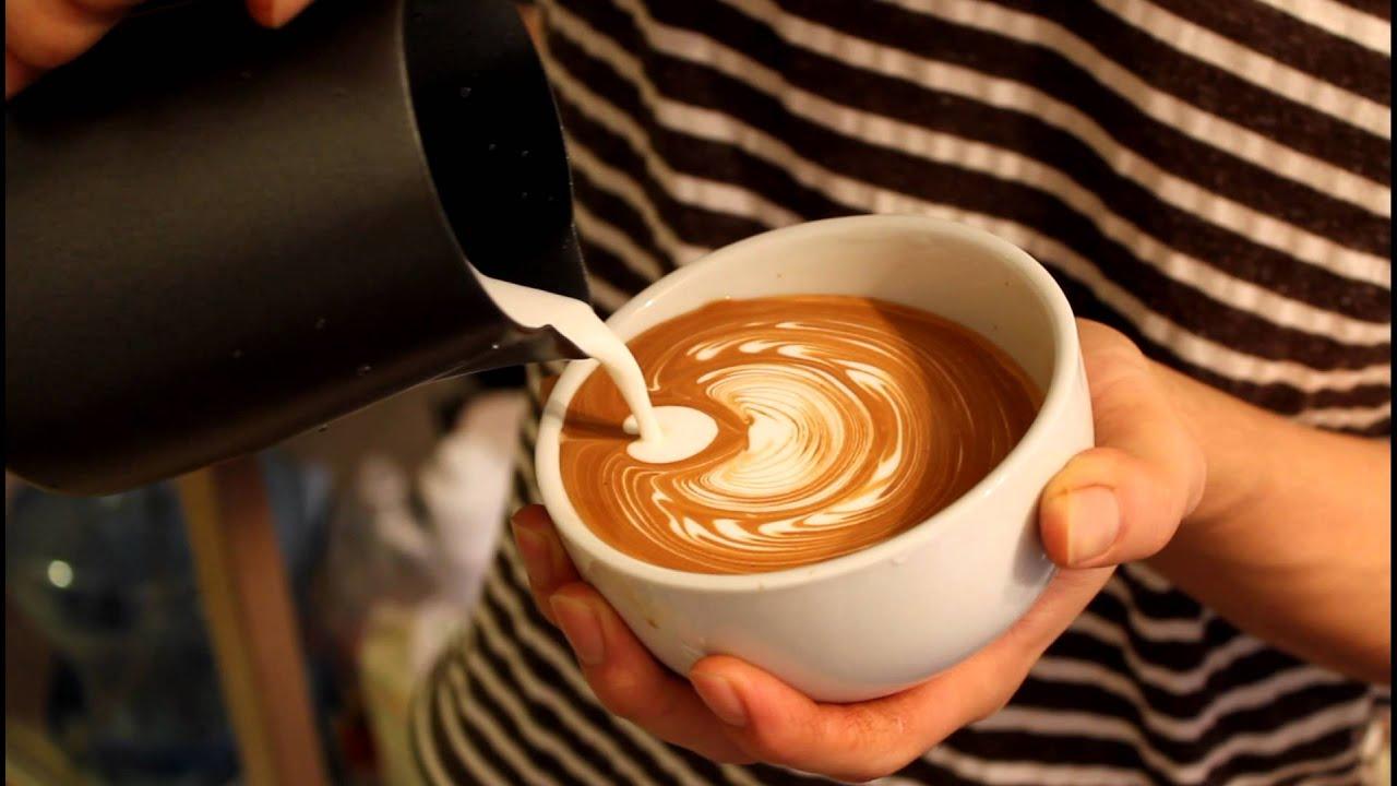 Latte Art Tulip Latte art(Layer tulip ...