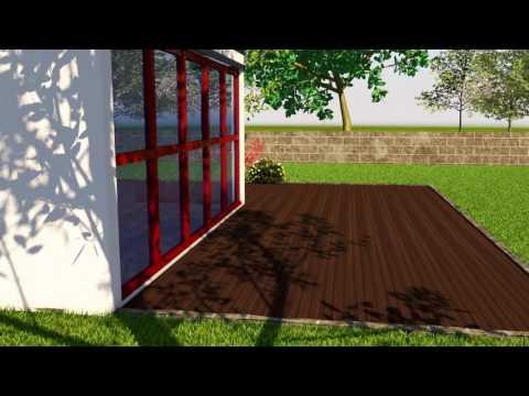 So einfach geht's: Holz im Garten
