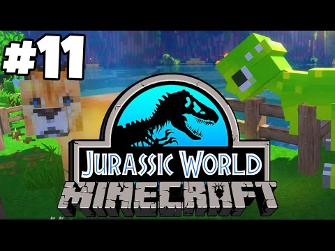 Jurassic World: Minecraft Dinosaurs | DINOSAUR VS LION (Playthrough Part 11)