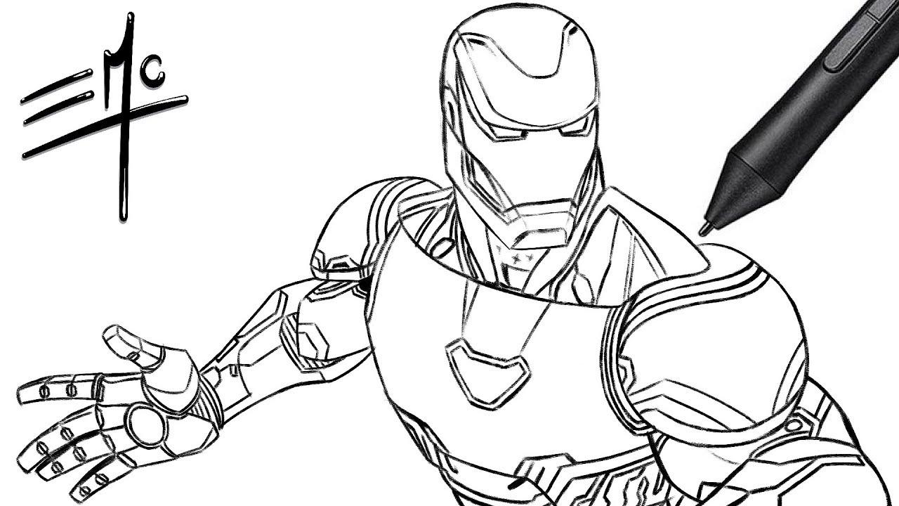 Similiar Iron Man Infinity War Coloring Sheets Keywords