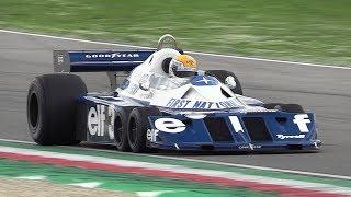 Historic Minardi Day 2018 - Tyrrell P34, Zonda Revolucion, Ferrari 126 C4 M, Mercedes F1 W04 & More!