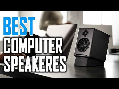 Best Computer Speakers in 2018