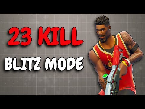 23 KILLS IN BLITZ | Fast paced game mode! | Solo v Squad
