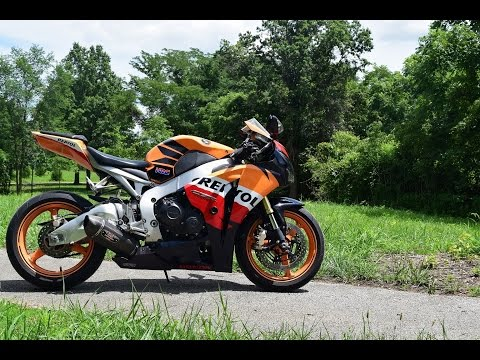 2009 Honda Repsol CBR1000rr Ride and Review