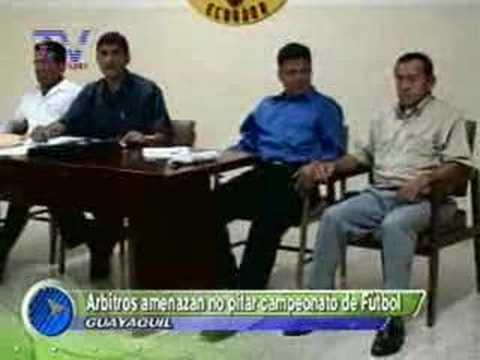 Arbitros amenazan no pitar campeonato de futbol