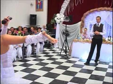 Прикольный свадебный тост