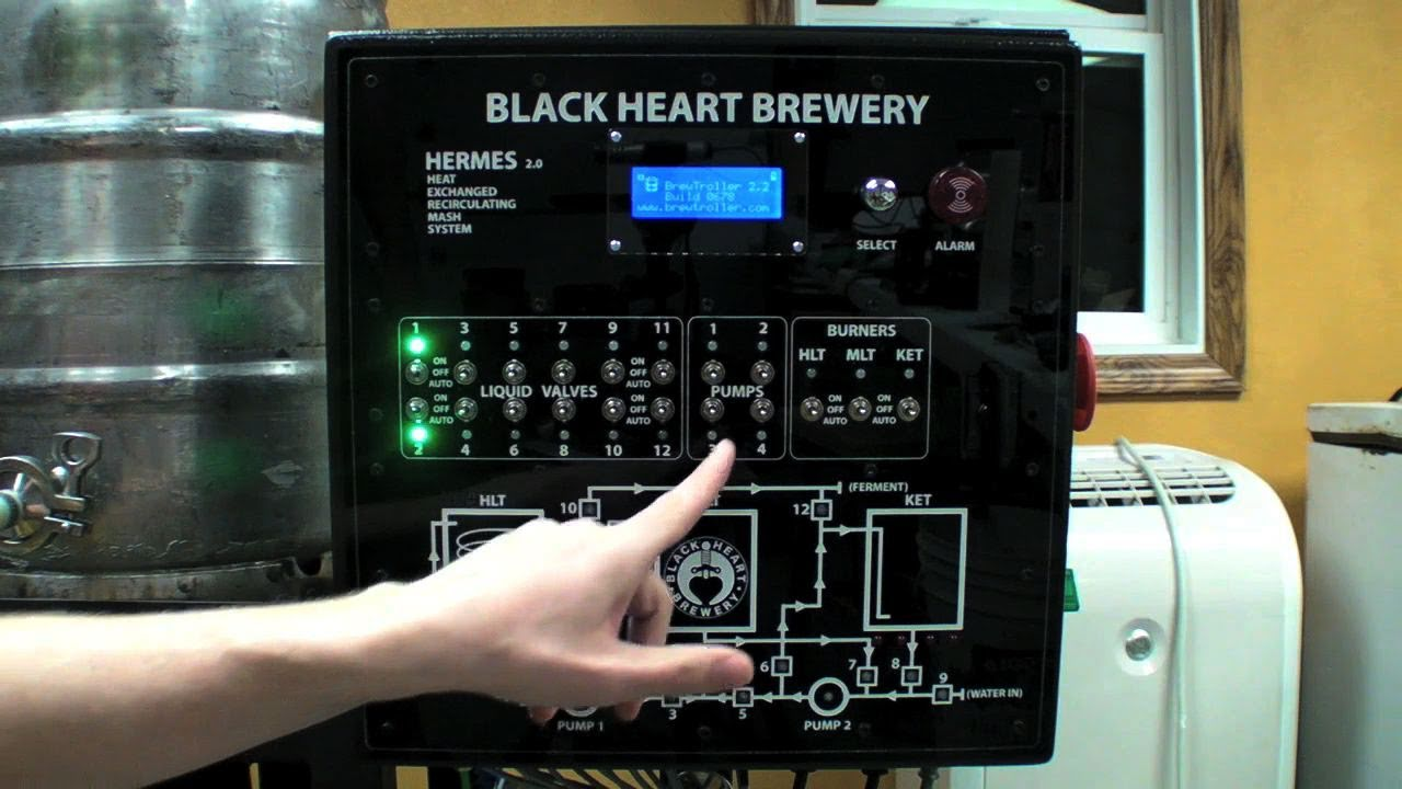Automated Homebrewing System On Make Live Ep08 Youtube