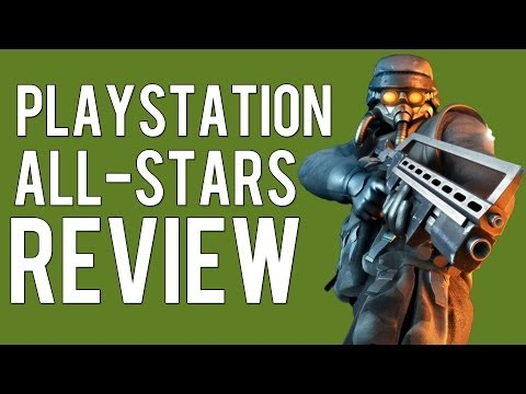 Playstation Allstars Battle Royale - Black Guy Reviews