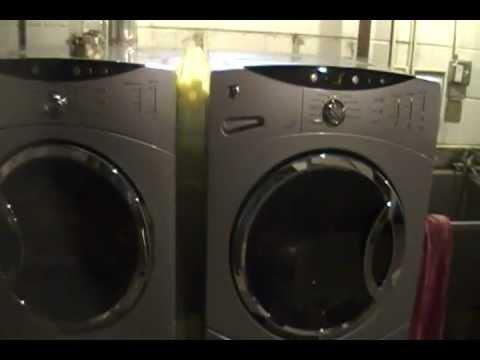 washing machine shaking violently