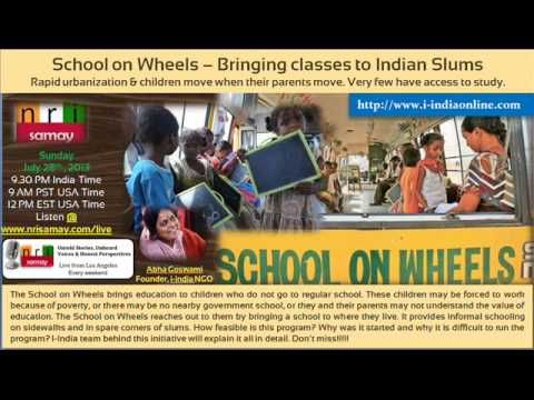 School on Wheels - Bringing classes to Indian Slums