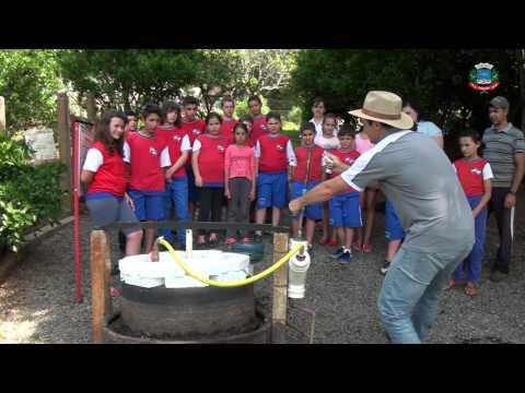 BIODIGESTOR NA ESCOLA - PIRATUBA