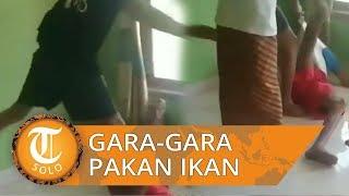 Video Viral Emosi Gara-gara Pakan ikan, Cucu Tega Tendang Kakeknya Sendiri