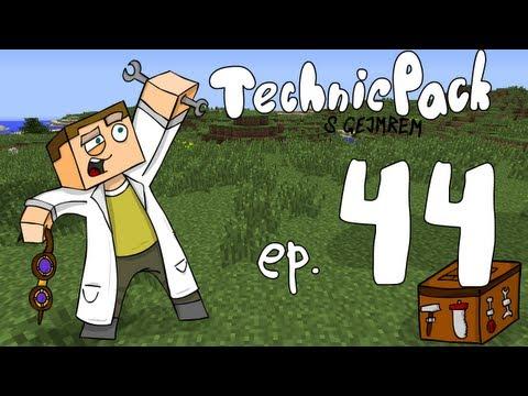 Technic Pack - Ep44 - Obelisky z Thaumcraftu