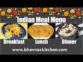 Meal Planning Episode 4 | Indian | Breakfast: Poha, Lunch: Stuffed Paratha, Dinner: Rice with Rajma