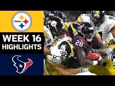 Steelers vs. Texans | NFL Week 16 Game Highlights