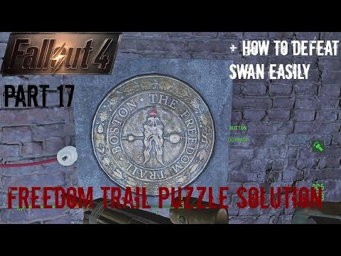 Fallout 4 - Part 17 (PS4 Broadcast)(Freedom Trail Puzzle Solution)