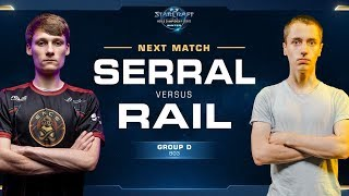 Serral vs Rail ZvP - Ro16 Group D - WCS Winter Europe