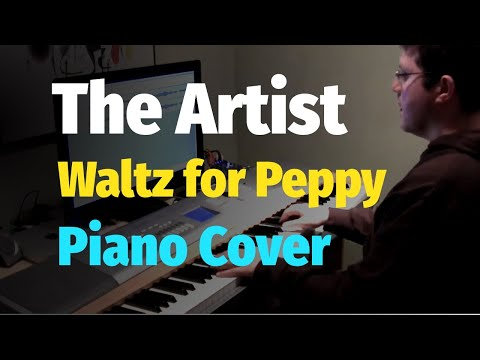 Waltz for Peppy (from The Artist 2011 Movie Score) - Piano