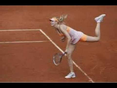 Maria Sharapova vs Paula Ormaechea - 2014 French Open (Roland Garros Hightlights & Review)