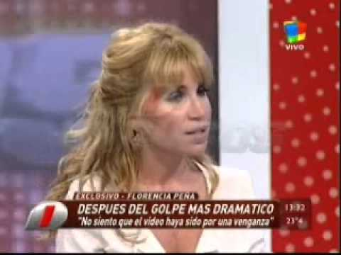 Florencia Peña en Intrusos 1