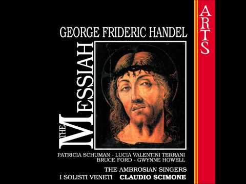 George Frideric Handel: The Messiah; No. 11 Air, The people that walked