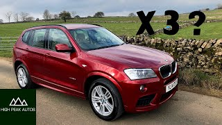 Should You Buy a Used BMW X3? (Test Drive and Review of F25 X3)
