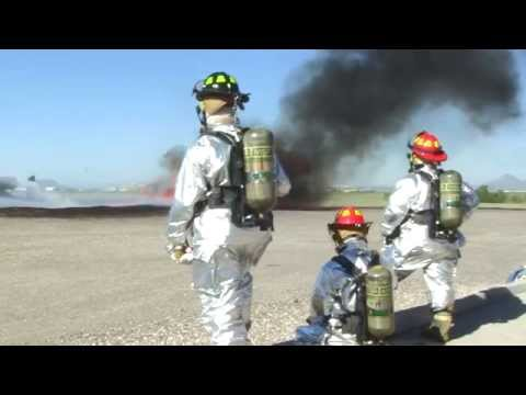 Davis-Monthan firefighters participate in live-fire training