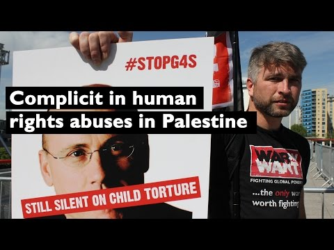 G4S slammed for human rights abuses in Palestine