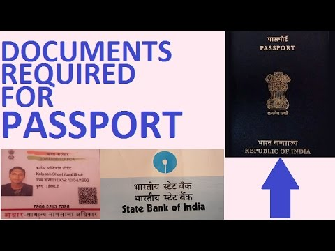 Documents required for Passport 2016