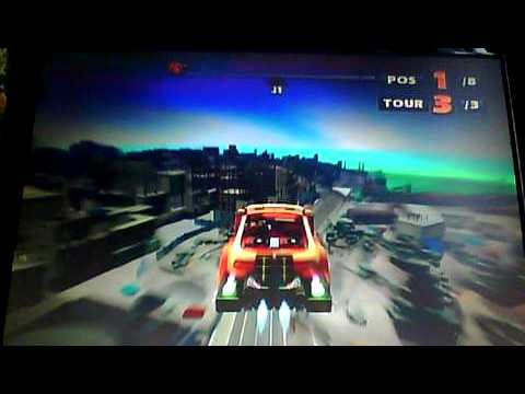 video test amateur de sonic racing xbox360.AVI