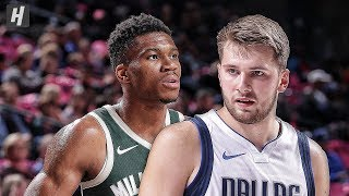 Milwaukee Bucks vs Dallas Mavericks - Full Game Highlights | October 11, 2019 | 2019 NBA Preseason
