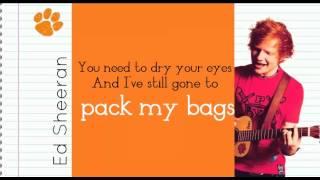 Watch Ed Sheeran Moody Ballad Of Ed video