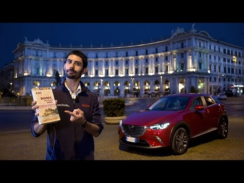 Mazda CX-3   La prova a Roma (tutta in una notte) in 4K!