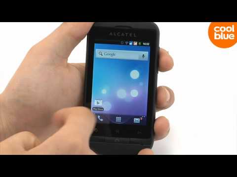 Alcatel OneTouch 918 Black review en unboxing (NL/BE)