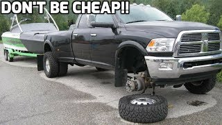 Don't buy wheel spacers until you watch this! Don't go cheap!!