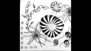 Weekly Zentangle® Tangle Video-PEPPER-April 13-19, 2015