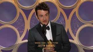 [HD] Justin Hurwitz Wins Best Original Score | 2019 Golden Globes