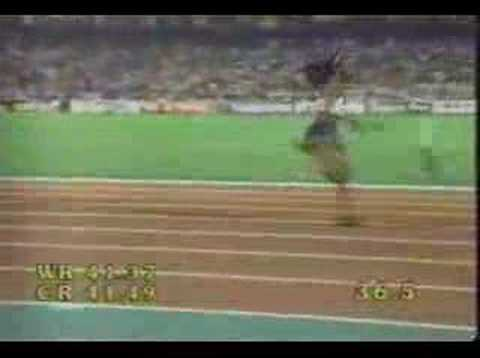 1997 World Champs 4x100m women American Record