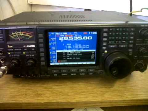 G3VRE on 10m SSB using Icom IC-756 PRO