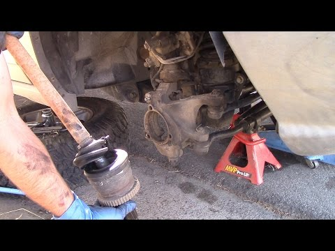 How to replace a front Hub & Axle 99-04 Grand Chreokee