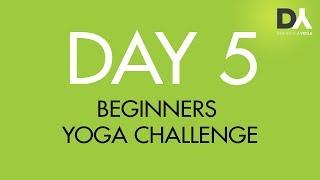 Йога челлендж для начинающих -  День 5