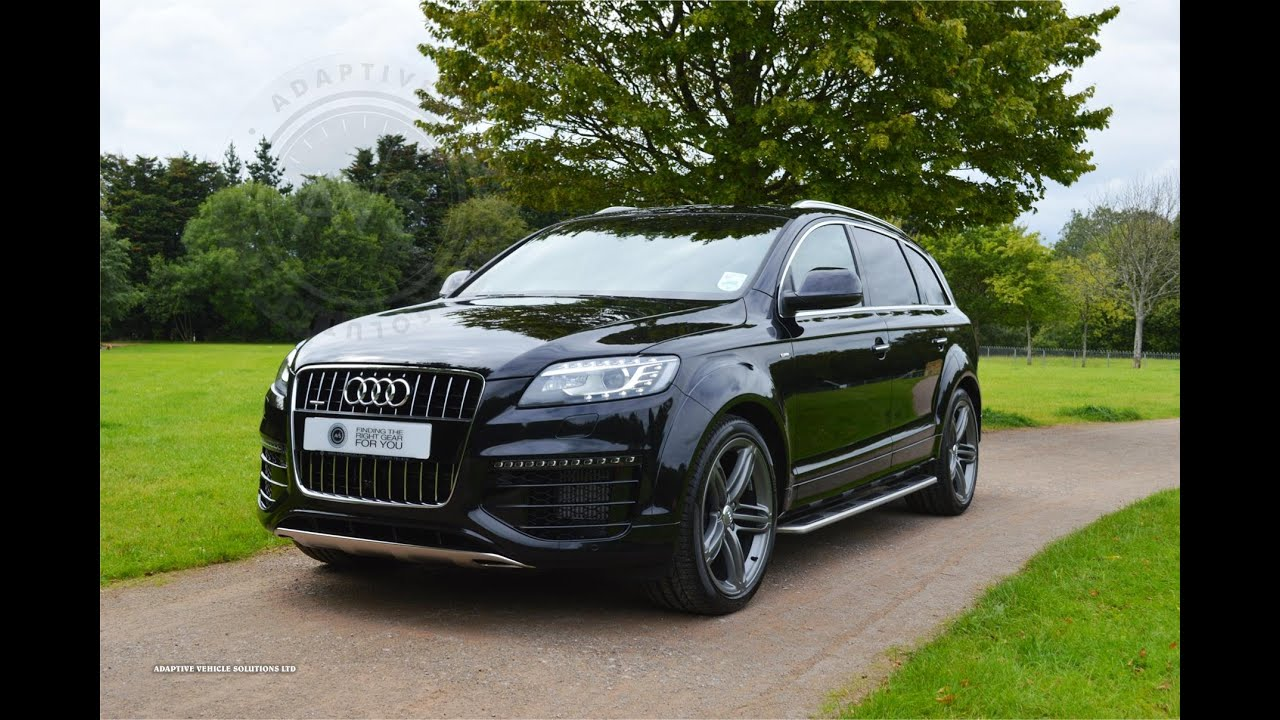 ultracollect audi q7 black sport images. Black Bedroom Furniture Sets. Home Design Ideas