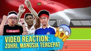 Download Lagu Duo Budjang - Video Reaction: Zohri, Manusia Tercepat Gratis STAFABAND